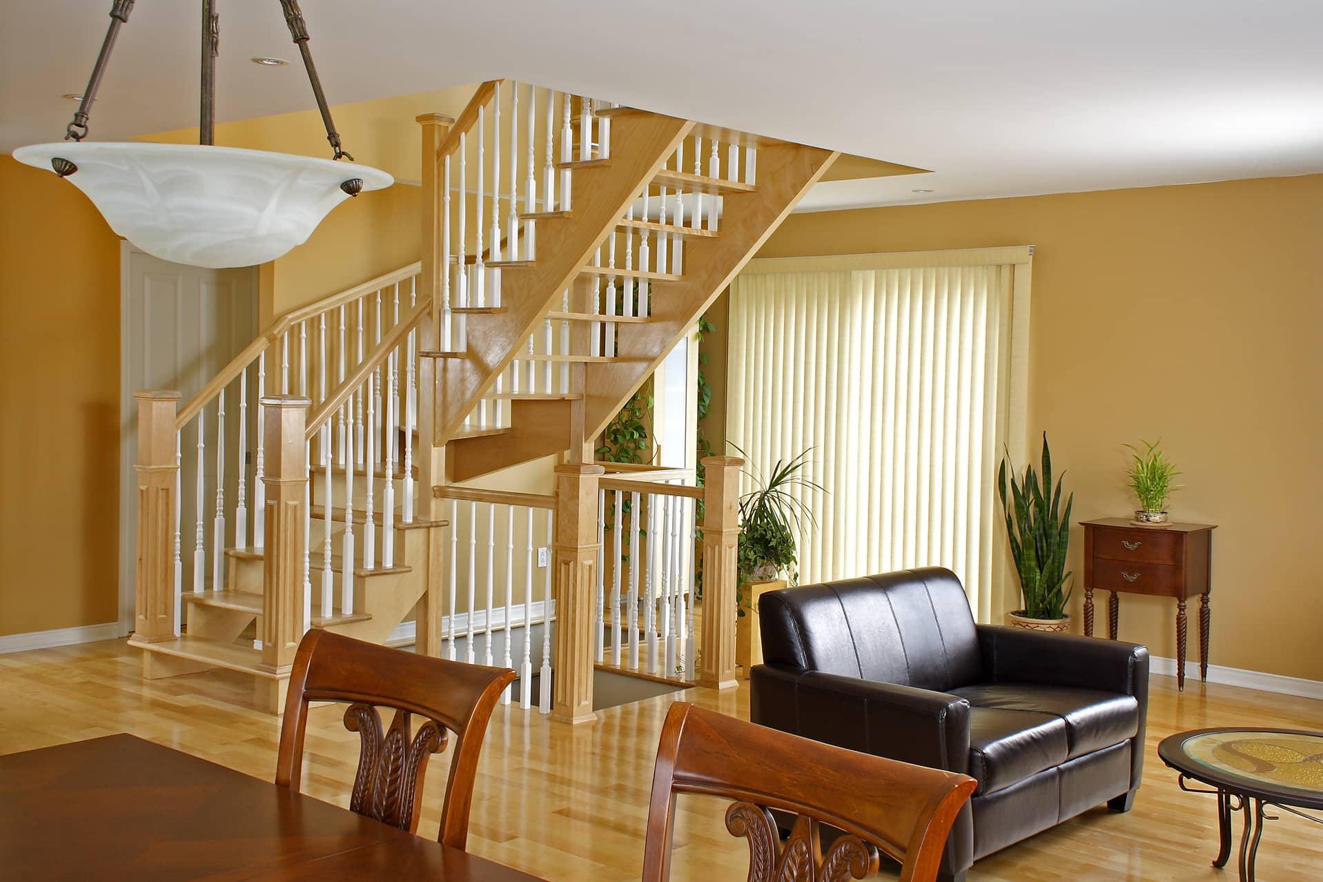 maison montral max larocque with escalier azam. Black Bedroom Furniture Sets. Home Design Ideas