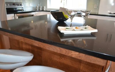 Choice of kitchen counters: the quartz stands out