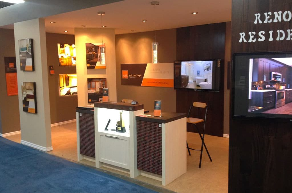 Max Larocque Construction at the 2019 Montréal HomeExpo
